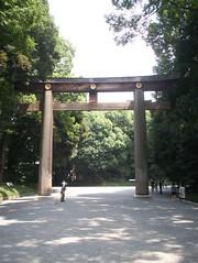 Gateway to Meiji Shrine