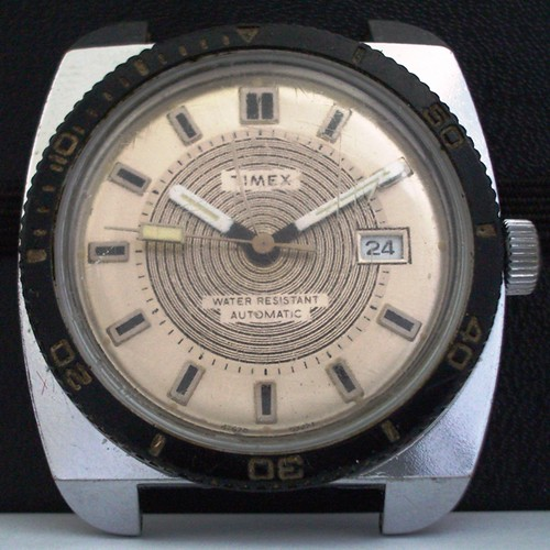 Timex 1974 Spiral Automatic Date Diver Project