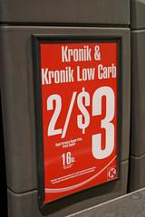 Low Carb Kronik (Caleb Keiter) Tags: signs kronik canon2470mmf28l