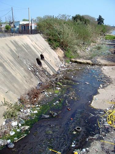 Contaminación en el Ludueña
