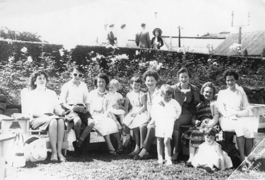 The Thomson Family at Butlins 1950s