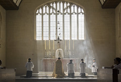 Adoremus in æternum (Lawrence OP) Tags: light church catholic dominican smoke jesus exposition oxford blackfriars rays priory incense blessedsacrament eucharist