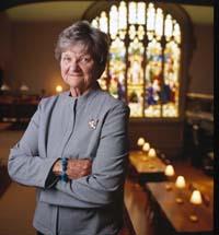 Vassar's first college historian, Elizabeth A. Daniels '41