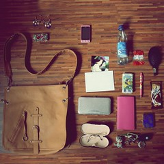 What is really in her bag ? June 2010 (donchris!™) Tags: birthday moleskine mobile bar pen project bag paper glasses mirror is phone little wallet chocolate 5 sac her lg purse bracelet what earrings 12 bolsa borsa waterbottle hairbrush tissues 2010 512 keyes tasche torba invation tatranky
