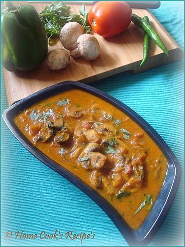 Mushroom Gravy for Rice