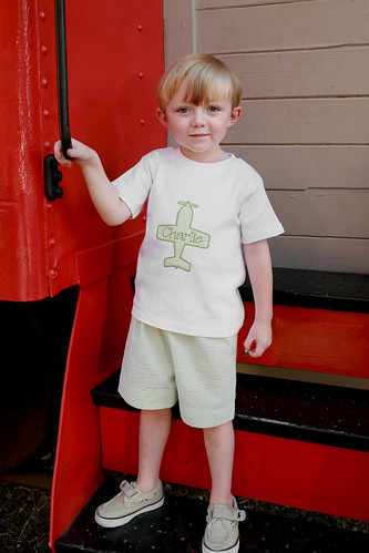Airplane Tee & Shorts Set
