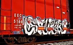 IMG_5497 (mightyquinninwky) Tags: railroad graffiti tag graf tracks railway tags tagged railcar rails boxcar graff graphiti freight trainart fr8 railart boxcarart freightart taggedboxcar paintedboxcar paintedrailcar taggedrailcar
