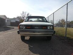 1981 Datsun 210 front