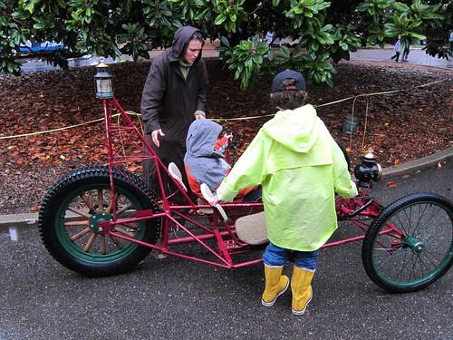 Children and trike