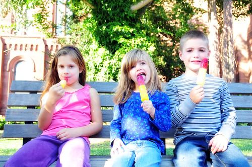 popsicles in D.C.