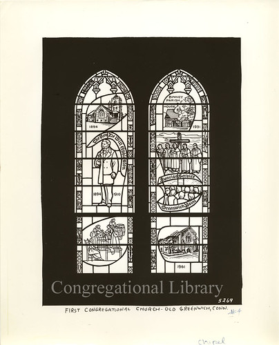 Greenwich, CT : First Congregational Church, Stained Glass