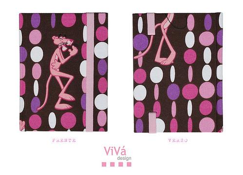Agenda Petit Pantera Cor-de-rosa