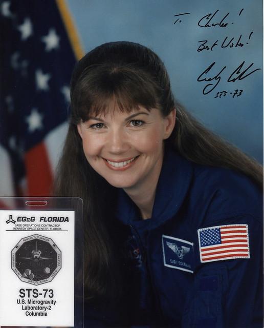 astronauta Cady Coleman NASA
