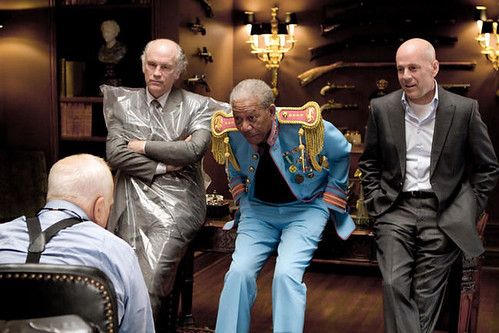 John Malkovich, Morgan Freeman & Bruce Willis in Red (2010)