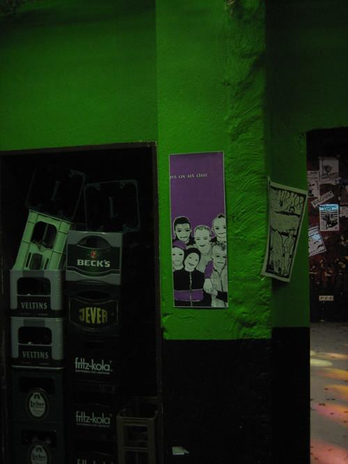 .TROUBLE X @ schwule mädchen - party, gieszen 2010.