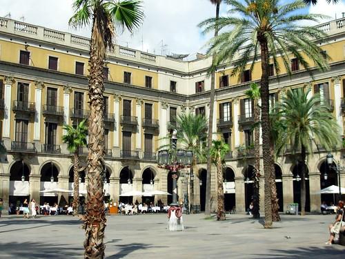 Plaça Reial - Barcelona, Espanha