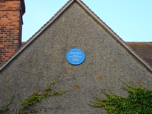 tolkien's house (1930-47), oxford