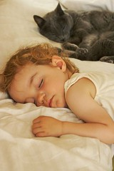 Cat napping (wycombiensian) Tags: sleeping cats portraits toddlers