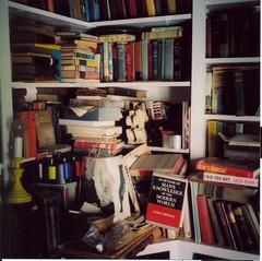 Man's Knowledge of the Modern World (alison will) Tags: 120 film michigan library books collections knowledge richland whalen mediumformatfilm marlatt