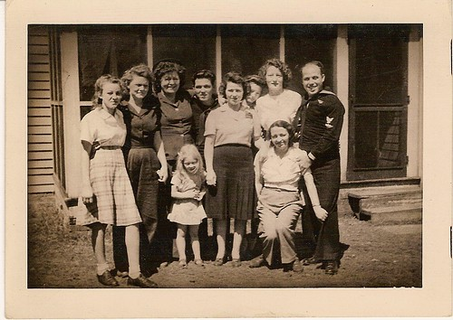Waters family of GA & SC, circa WWII