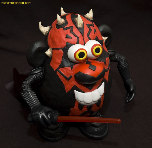 Darth Maul Spud Apprentice: Mr Potatohead