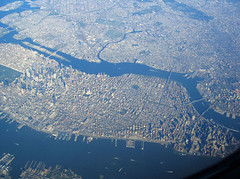 Areal View of Manhattan