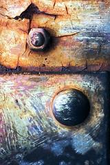 Burnt Out (Matt Sefton) Tags: england macro rust decay flaky tanfieldrailway mattsefton