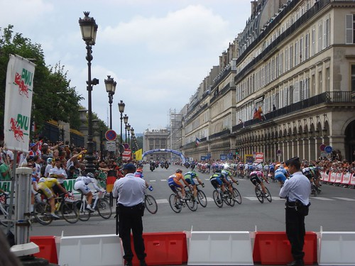 Tour de France - Rue de Rivoli