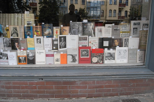 Berlin bookshop windows