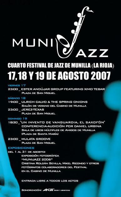 Programa Munijazz 2007