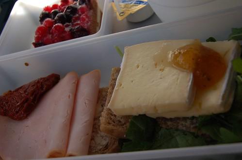 Scandinavian Airlines snack