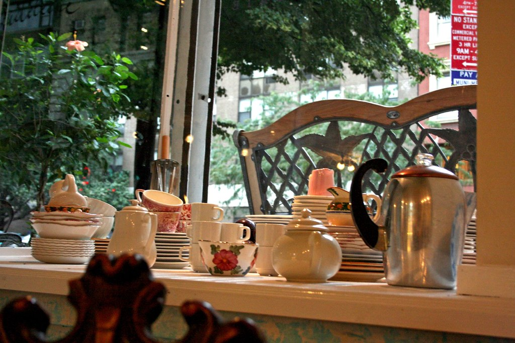 Teaware in Madeline Patisserie