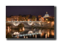 accadierre ( pix&love) Tags: longexposure copyright rome roma reflection art photoshop canon relax eos 350d luca flickr hobby bynight ponte tevere lungotevere lukeskywalker selfmade sanpietro photoart hdr levels myphotos riflesso passione emozioni fotografiadigitale canoniani passionefotografica lucamencarelli canonianiromani lefotopibelledelmondo passionedigitale pixlove