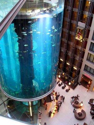 cylindrical aquarium0
