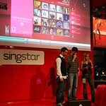 The stage of Singstar for Playstation 3 at Sony Booth thumbnail