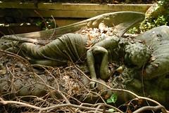 Highgate Cemetery-West London (picaddict) Tags: explore decayed mywinners p1f1 impressedbeauty ultimateshot superbmasterpiece highgatecemeterylondon statueofayounggirl