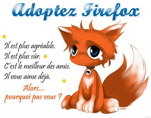 Adoptez Firefox