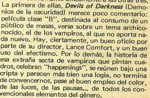devil of darkness