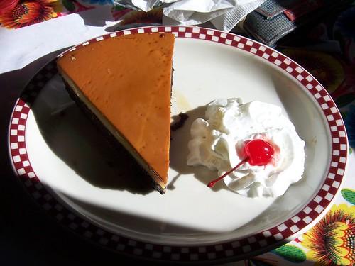 red iguana flan cake dessert