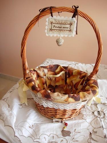 218 033 00 cesta de frutos secos con puntilla