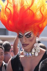 Flaming Hair (Andy Frazer) Tags: folsom folsomstreetfair instantfave folsomstreetfair2007