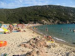 Plage de Tizzà (Cala di l'Avena - Tizzano)