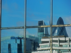 London_2 (salamone photography) Tags: london grattacielo palazzo azzurro londra architettura vetro costruzioni vetrate