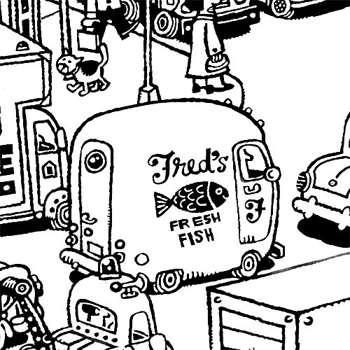 Pieces of Everything Goes: Fred's Fresh Fish
