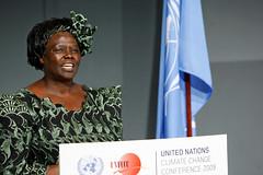 An African chorus on climate change (Africa Renewal) Tags: africa peace kenya tunisia un prize nobel wangari maathai greenbeltmovement africandevelopmentbank
