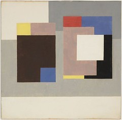 Nicholson, Ben (1894-1982) - 1940-43 Gouache 1940-43 (Museum of Modern Art, New York City) (RasMarley) Tags: abstract english watercolor 1940 museumofmodernart 1940s painter nicholson gouache 20thcentury abstractexpressionism bennicholson geometricabstraction gouache194043