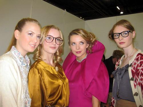 Nikita, Jessica, Greta and Paige