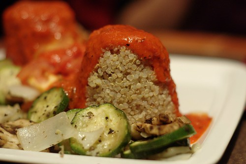 Ratatouille with Quinoa and Walnut Pilaf @ Higher Ground Global Vegetarian Night