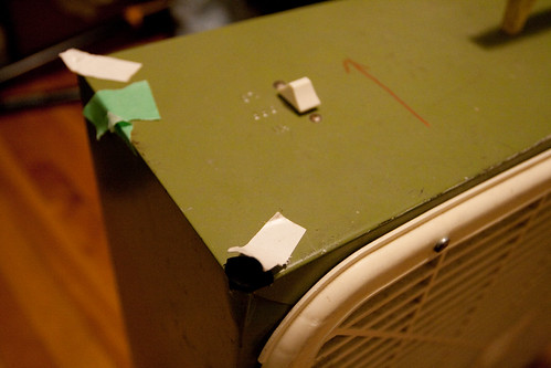 Previous Danger Fan hack: tape and foam
