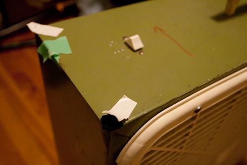 Previous Danger Fan hack: tape and foam
